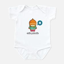 Cutie Patootie ORA/PNK Infant Bodysuit