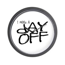 Funny Bad days Wall Clock