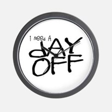 Funny Time out Wall Clock