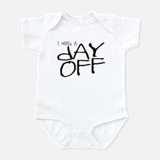 Cute I hate work Infant Bodysuit
