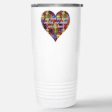 Cute Autism awareness Travel Mug