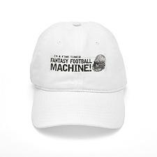 Fantasy Football Machine Baseball Baseball Cap