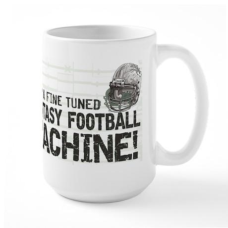 Fantasy Football Machine Large Mug
