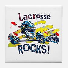Lacrosse Rocks Tile Coaster