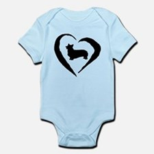 Pembroke Heart Infant Bodysuit