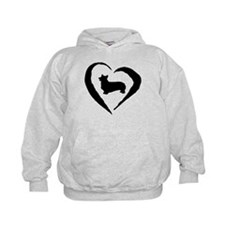 Pembroke Heart Hoodie