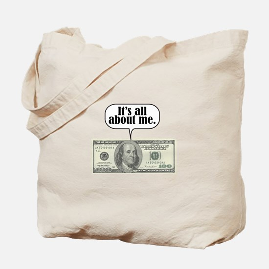 Benjamins Tote Bag