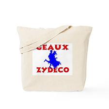 Zydeco Dancer Tote Bag