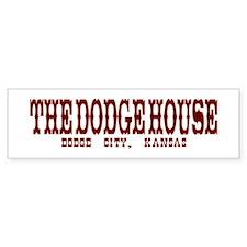 The Dodge House Bumper Car Sticker