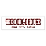 The Dodge House Bumper Sticker (10 pk)