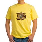 Copiah County Sheriff Yellow T-Shirt
