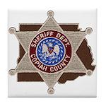 Copiah County Sheriff Tile Coaster