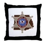 Copiah County Sheriff Throw Pillow