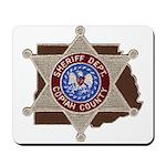 Copiah County Sheriff Mousepad