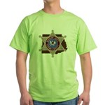 Copiah County Sheriff Green T-Shirt