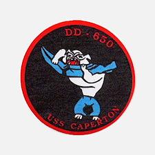 "USS CAPERTON 3.5"" Button (100 pack)"