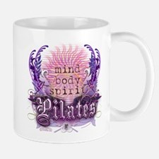 Body Mind Spirit Pilates Small Small Mug