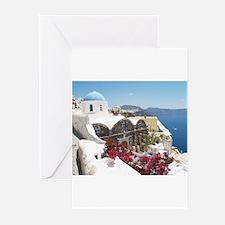 Unique Santorini Greeting Cards (Pk of 10)