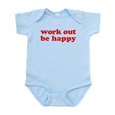 Work Out Infant Bodysuit
