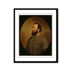 Stonewall Jackson Framed Panel Print