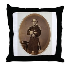 David Glasgow Farragut Throw Pillow