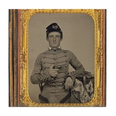 George Armstrong Custer Tile Coaster