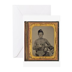 George Armstrong Custer Greeting Cards (Pk of 20)