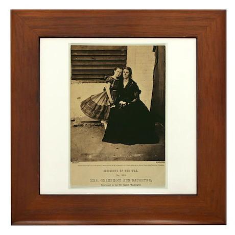 Rose & Rose O'Neal Greenhow Framed Tile