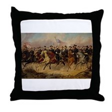 Grant & His Generals Throw Pillow