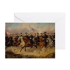Grant & His Generals Greeting Cards (Pk of 20)