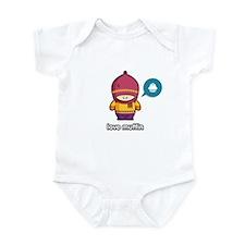 Love Muffin PNK/PUR Infant Bodysuit