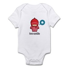 Love Muffin PNK Infant Bodysuit