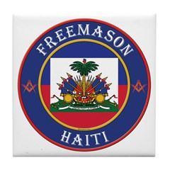 Haiti Masons Tile Coaster