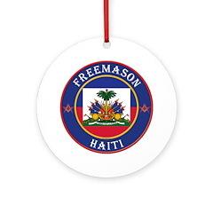 Haiti Masons Ornament (Round)