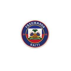 Haiti Masons Mini Button (10 pack)