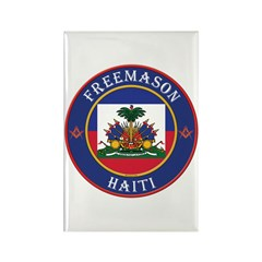 Haiti Masons Rectangle Magnet (100 pack)