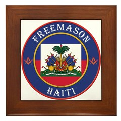 Haiti Masons Framed Tile