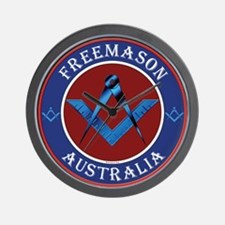 Australian Masons Wall Clock