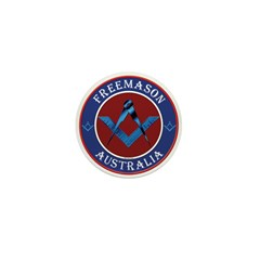 Australian Masons Mini Button (10 pack)