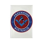 Australian Masons Rectangle Magnet (10 pack)