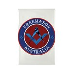 Australian Masons Rectangle Magnet (100 pack)