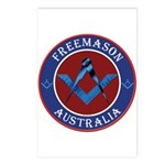 Australian Masons Postcards (Package of 8)