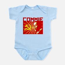Obama Commie Infant Bodysuit