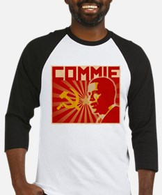 Obama Commie (aged effect) Baseball Jersey