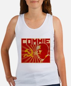Obama Commie (aged effect) Women's Tank Top
