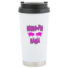 Micro-Pig Mania Travel Mug