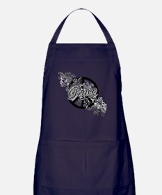 Peace Sign Filigree Art Apron (dark)