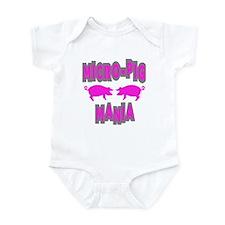Micro-Pig Mania Infant Bodysuit