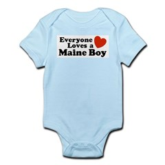 Maine Boy Infant Bodysuit