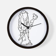 Rasta Man Wall Clock
